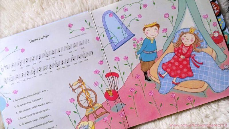 märchenbuch singen notenbuch lieder für kinder geburtstagsgeschenk für mädchen märchenlieder noten instrumental mitsingen