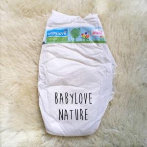 Babylove nature green DM Bio Windel Vergleich Ökowindel Biowindel getestet Vergleich Wegwerfwindel Testbericht Alternative zu Pampers Huggies ohne Giftstoffe Schadstofffrei