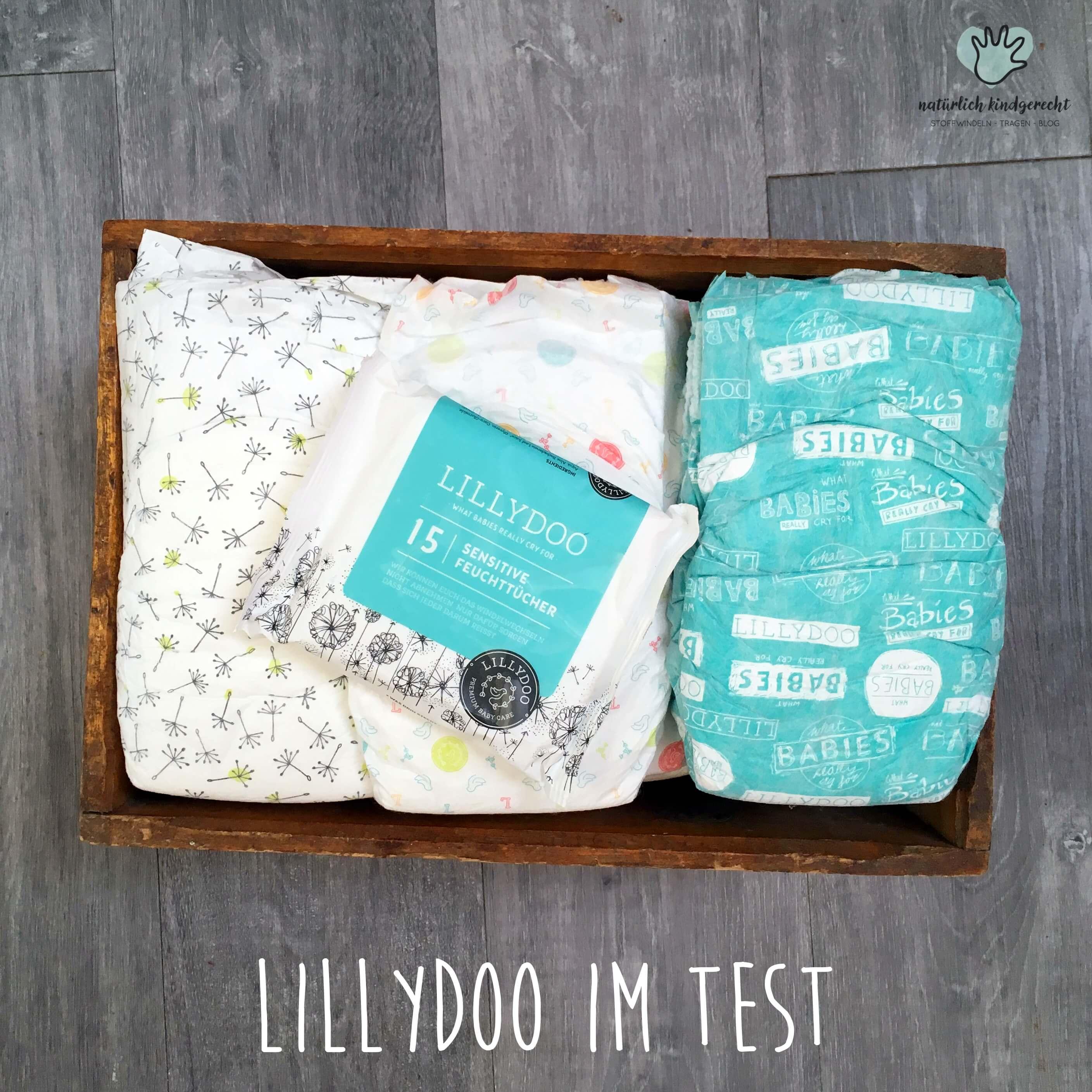 Lillydoo Windel Vergleich Ökowindel Testbericht Meinung Biowindel Moltex Lillydoo Naty Bio Babby Babylove nature Eco Attitude