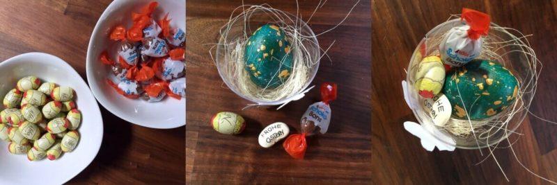 Osternest für Kinder DIY