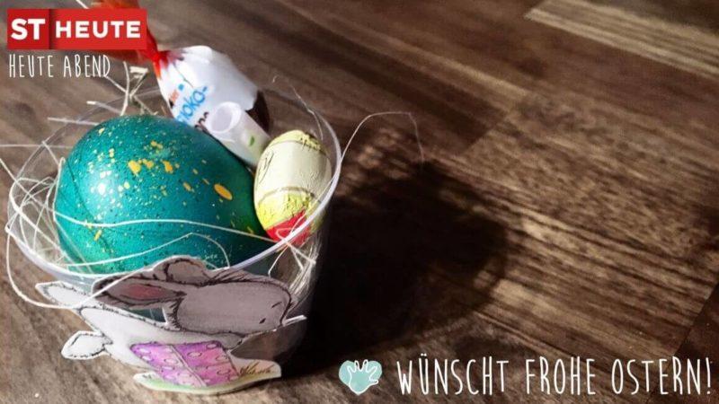 basteln osternest kinder osterbasteln Frühling Bastelidee Kleinkind Kindergartenkind