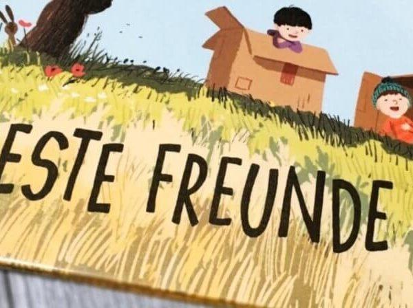 Beste Freunde Kinderbuch Tipp Buchempfehlung Kinder Linda Sarah Benji Davies Buchempfehlung Kleinkind lesen Kinder