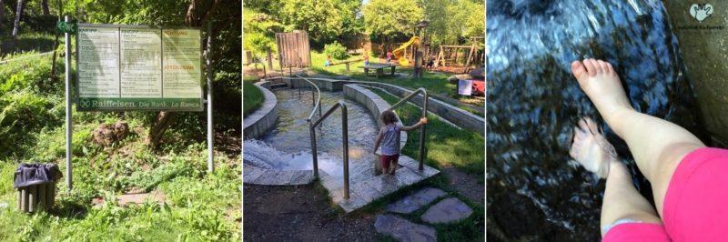 Naturpark Vahrn Schalderer Bachl Wandertipp kinder Südtirol Ausflugsziel kindgerecht Vahrn Suedtirol Italien Kinder wandern Familienausflug Tipp Idee Kneippanlage Familienausflug Tipp Ausflugsziel Südtirol Sommer schattig
