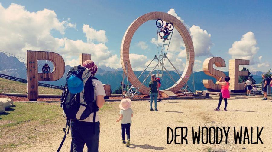 Woody Walk Plose Brixen wandern Südtirol Kinder Wandertipp Wandern mit Zwergen Wanderzwerge Plose Brixen St. Andrä Woody Walk Urlaub Suedtirol Südtirol Wanderempfehlung Kinder Route