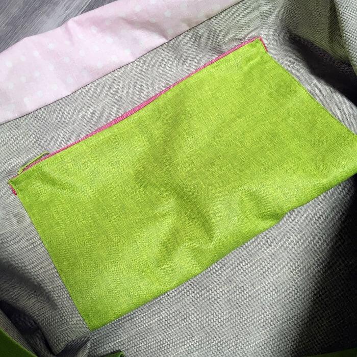 Innentasche rlovely rlovely handmade Details Schwimmtasche XXL Südtirol Tipp Schwimmbadbesuch Schwimmbad Klausen handmade