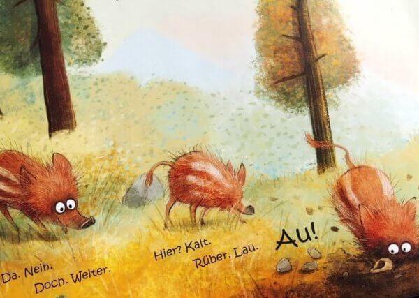 Rezession Borst vom Forst Kinderbuch Buchtipp Buchrezession Magellan Verlag natürliches Kinderbuch Buchtipp für Kindergartenkinder Buch für den Herbst Borst vom Forst vorlesen