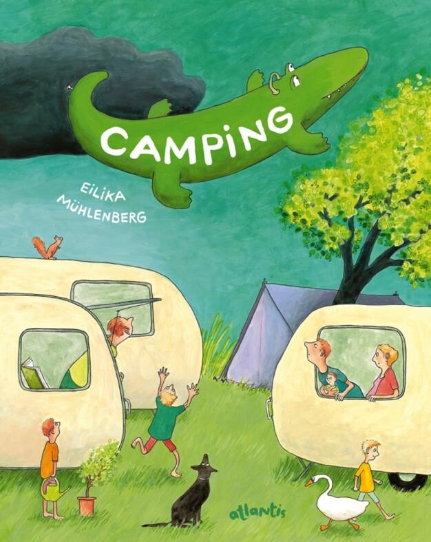 Camping: Urlaub bei Wind und Wetter Mühlenberg Camping Urlaub bei Wind und Wetter Wimmelbuch Buchtipp Sommerferien Kinder lesen Lesevergnügen tolles Wimmelbuch Suchbuch Wimmel Buchtipp Empfehlung