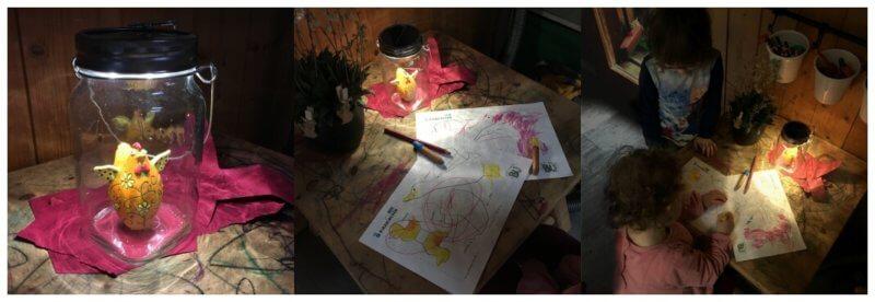 Sonnenglas Laterne Martinsumzug Sonnenlaterne Tipp Nachtlicht für Kinder besonderes Nachtlicht engergiesparend plastikfreie Laterne basteln fairtrade Lampe Made in Africa