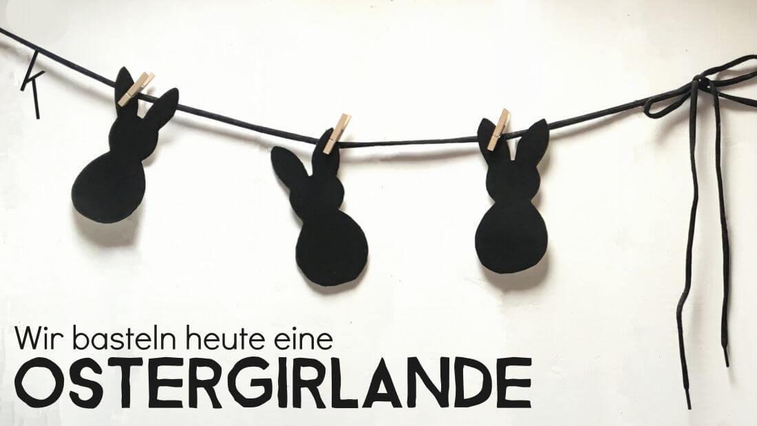 Ostergirlande-mit-Kindern-basteln-Osterdeko-DIY-Hasengirlande