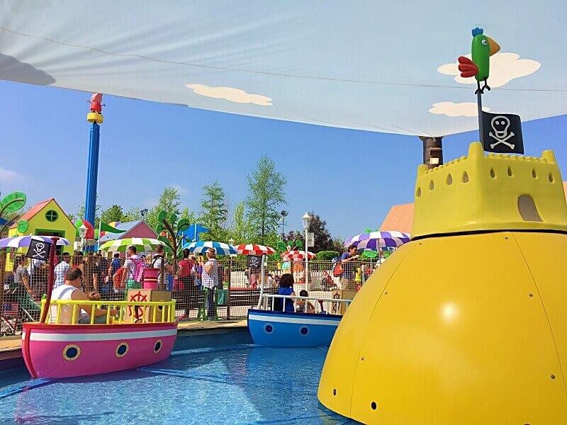 Gardaland Resort mit Kleinkind Peppa Wutz Land