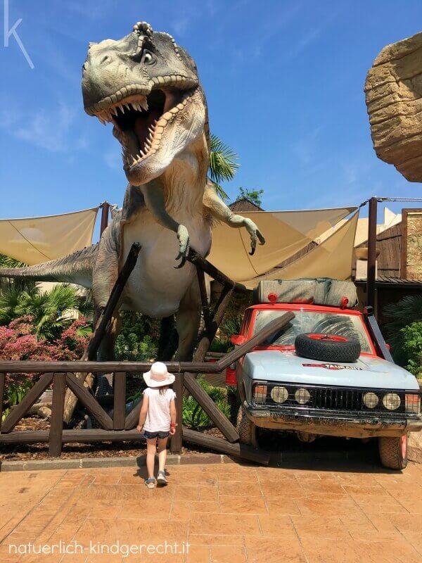 T-Rex im Gardaland Park