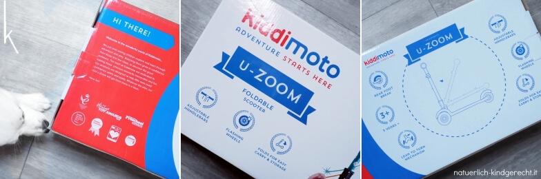 Kiddimoto UZoom Adventure starts here Kinderroller