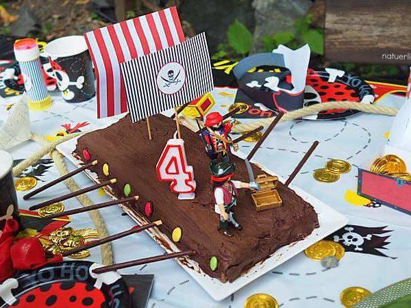 Piratenparty für Kinder Kindergeburtstag Mottoparty Pirat