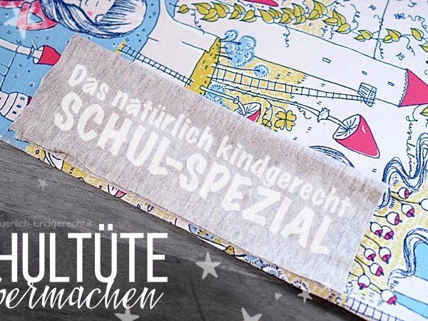 Schultüte Selbermachen DIY Schul-Spezial Südtirol