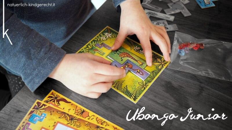 Spieltipp für Schulkinder Ubongo Junior