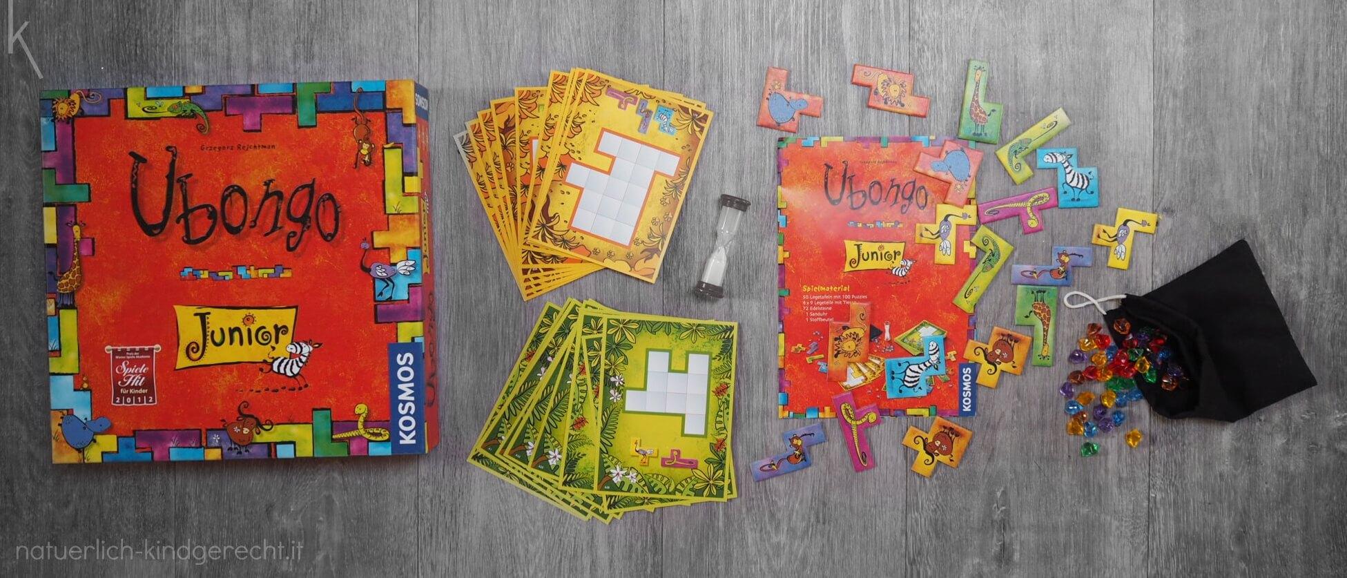 Ubongo Junior Strategiespiel für Kinder
