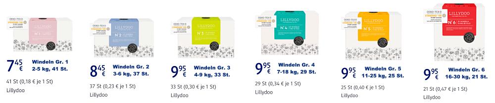 Lillydoo bei DM Drogeriemarkt