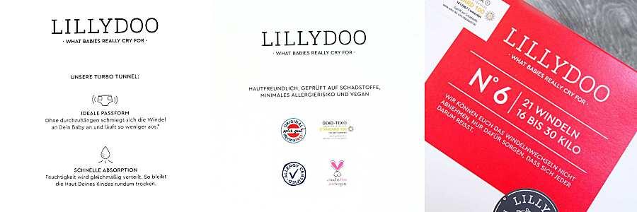 Lillytoo Testpaket Verpackung DM Windelpaket
