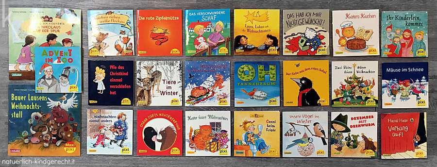 Pixi Adventskalender Tipp für Kinder Lesespaß mit Pixi