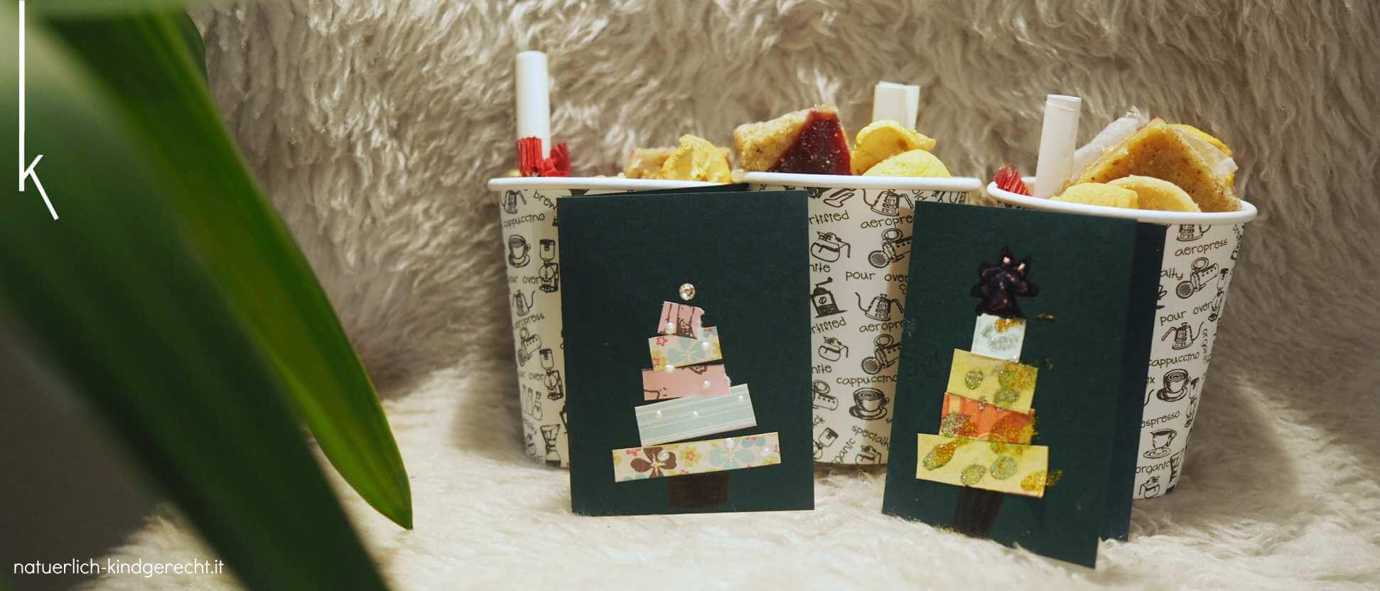 Geschenkidee Wichteln DIY Bastelidee Weihnachtswichteln