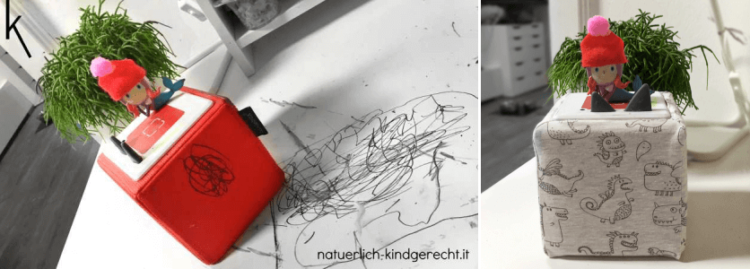 Toniebox Hülle selbernähen Kreativtonie Tonie Box
