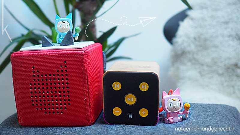Toniebox oder Tigerbox Welche Hörbox für Kinder ist besser?