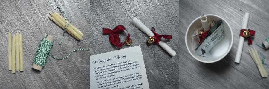 Weihnachtsgeschenk basteln mit Kindern DIY