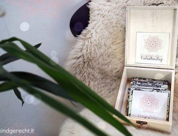 12 Dates für Eltern Geschenk zum Valentinstag A year of dates in a box