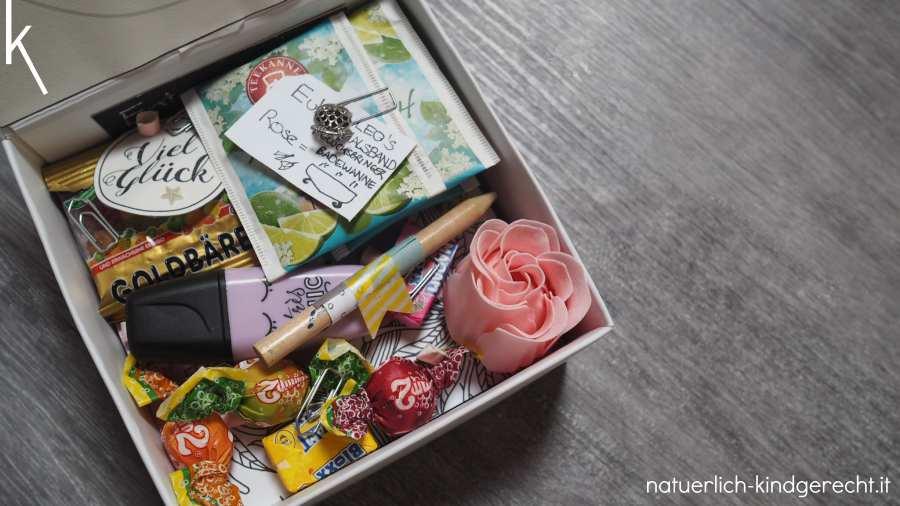 Kleine süße Geschenkbox für Freundinnen