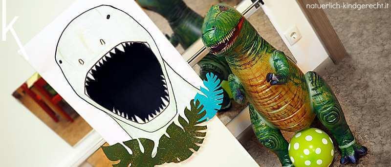 Dinosaurier Spiele für den Dino-Geburtstag