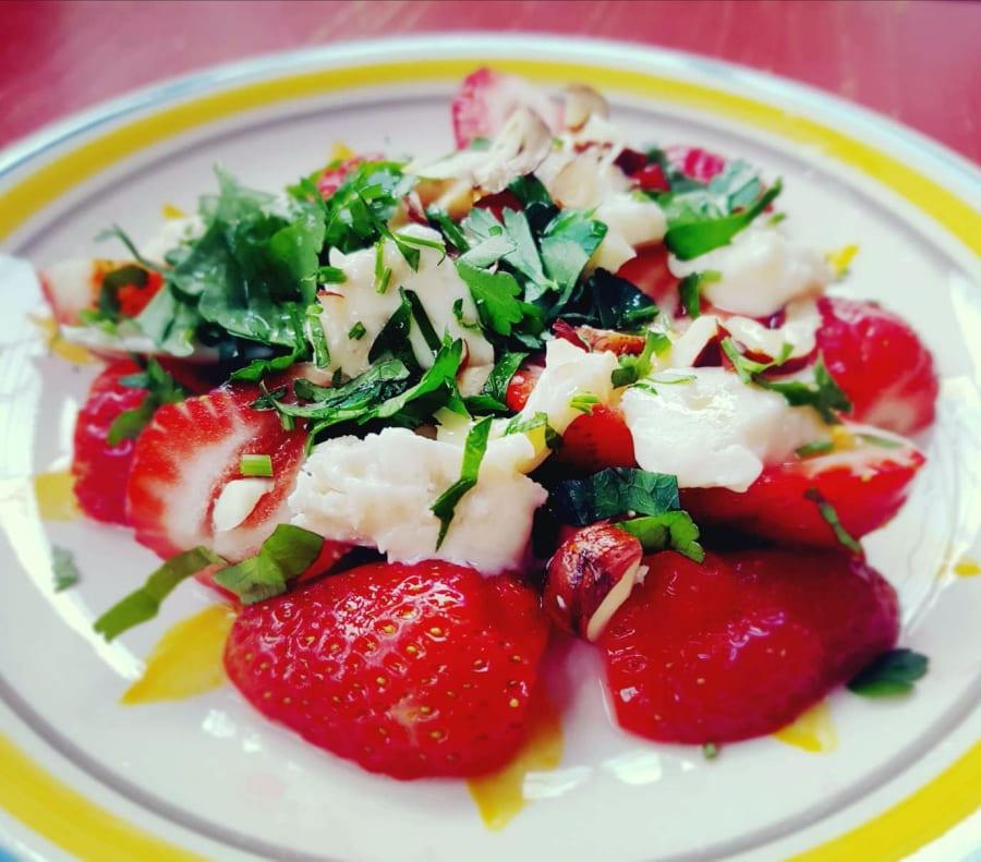 Leckere Erdbeeren in unserem Erdbeer-Gorgonzola-Salat