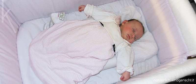 Babybett wie soll mein Baby schlafen?