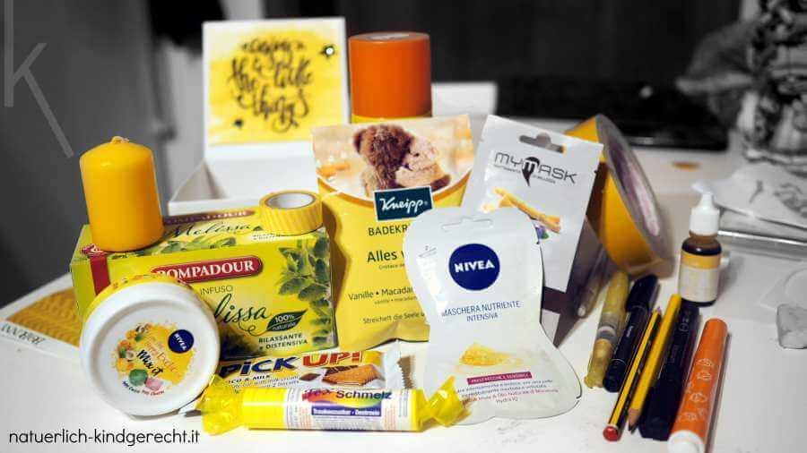 Ideen für eine Wellnessbox für Zuhause für Schwangere