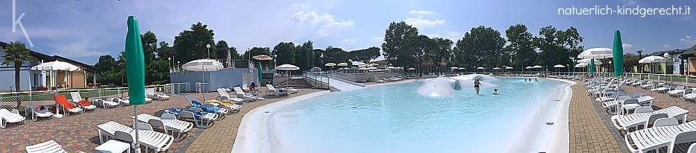 Ferienanlage Italien Urlaub mit Kind Spiaggia Romea