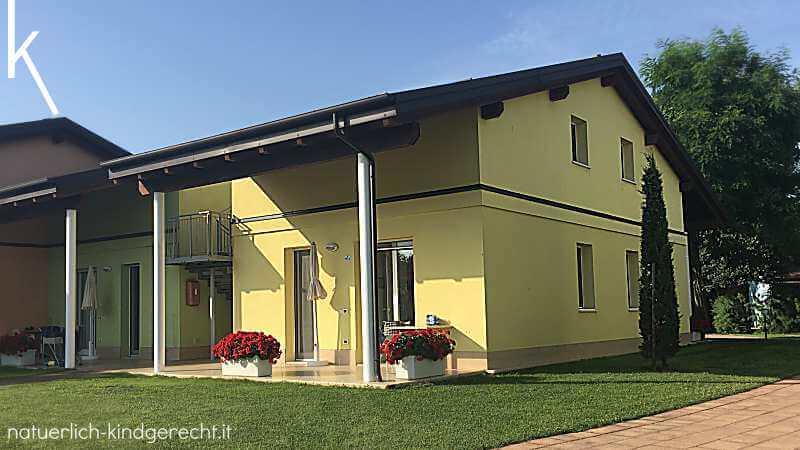 Ferienhaus in Italien Urlaub mit Kind und Hund