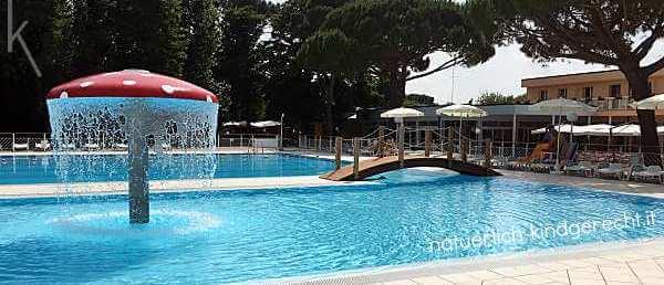 Schwimmbad Spaßbad Kinder Italien Emilia Romagna