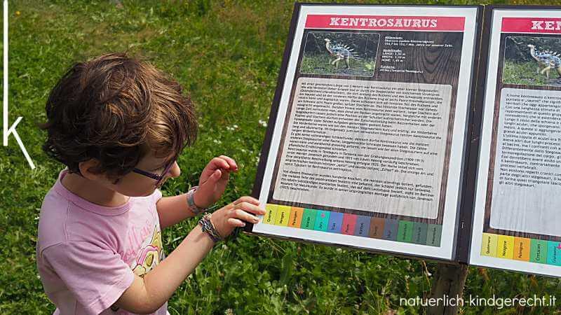 Dinosaurier in der World of Dinosaurs