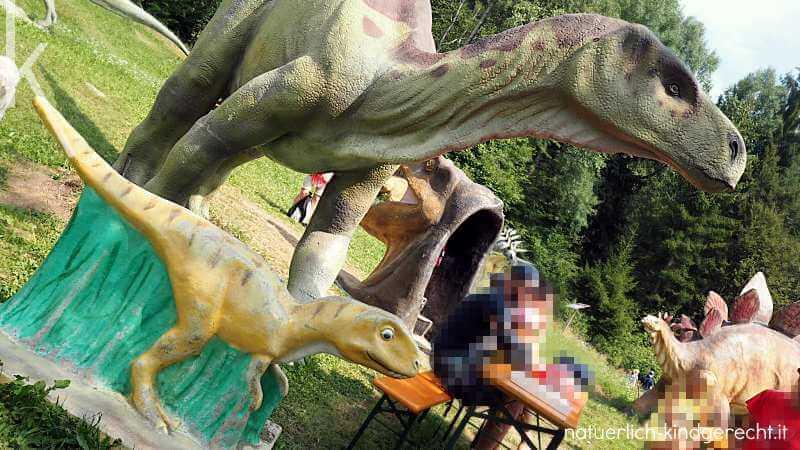 dinosaurier Ausstellung in Südtirol