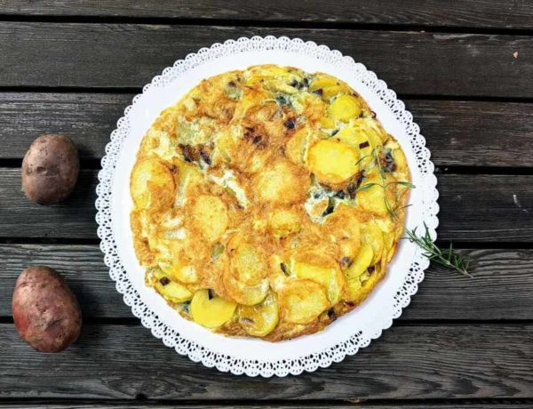 Spanische Kartoffeltortilla Natürlich glücklich