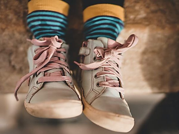 Darf ein Kind gebrauchte Schuhe tragen?