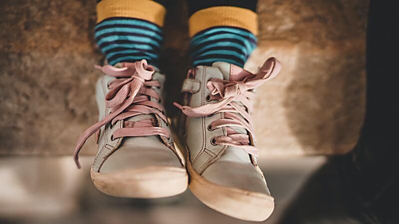 Worauf muss ich achten, wenn ich meinem Kind neue Schuhe kaufe?