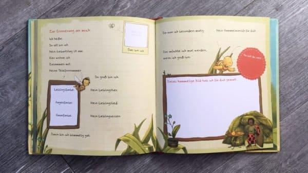 Die kleine Hummel Bommel Freundebuch Kindergarten