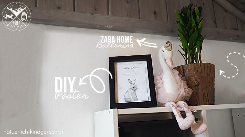 Ideen für dein Ballerina Kinderzimmer Mädchenzimmer
