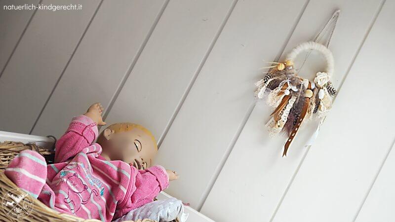 Traumfänger selbermachen für das Kinderzimmer