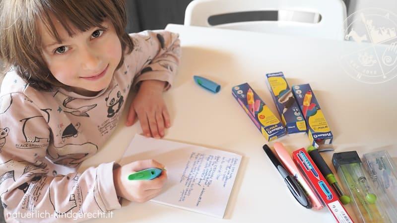 Wo können meine Kinder Füller und Tintenroller ausprobieren in Südtirol