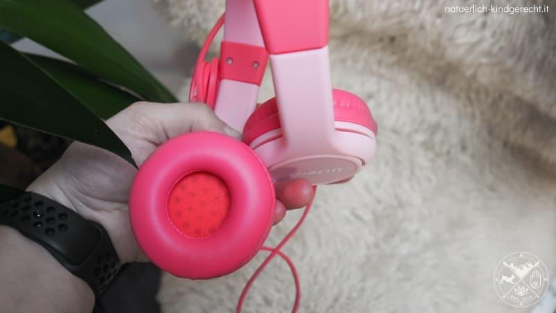 Lobkin Kinder-Kopfhörer mit Katzenohren