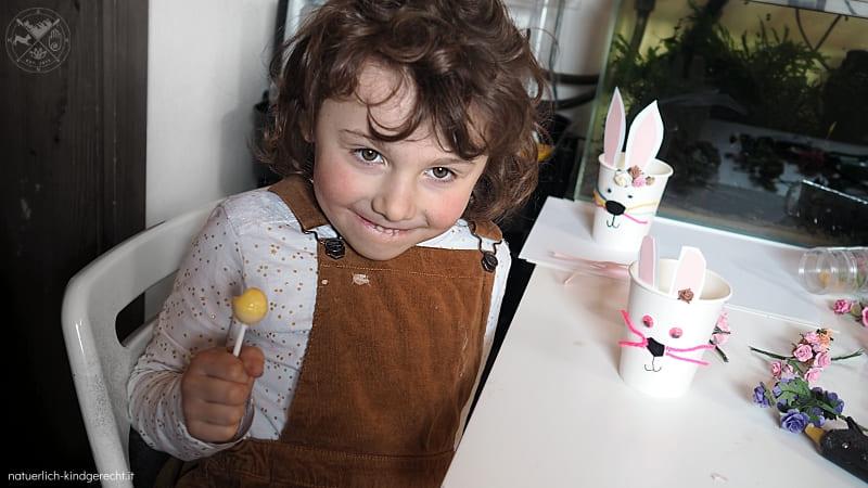 Natürlich kindgerecht wünscht Frohe Ostern