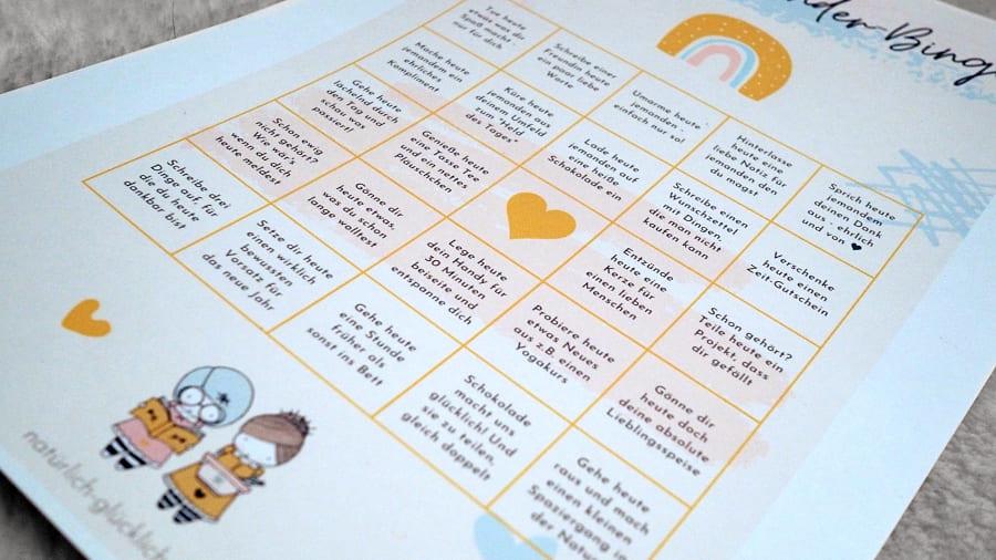 Achtsamkeit-Adventskalender ausdrucken und loslegen