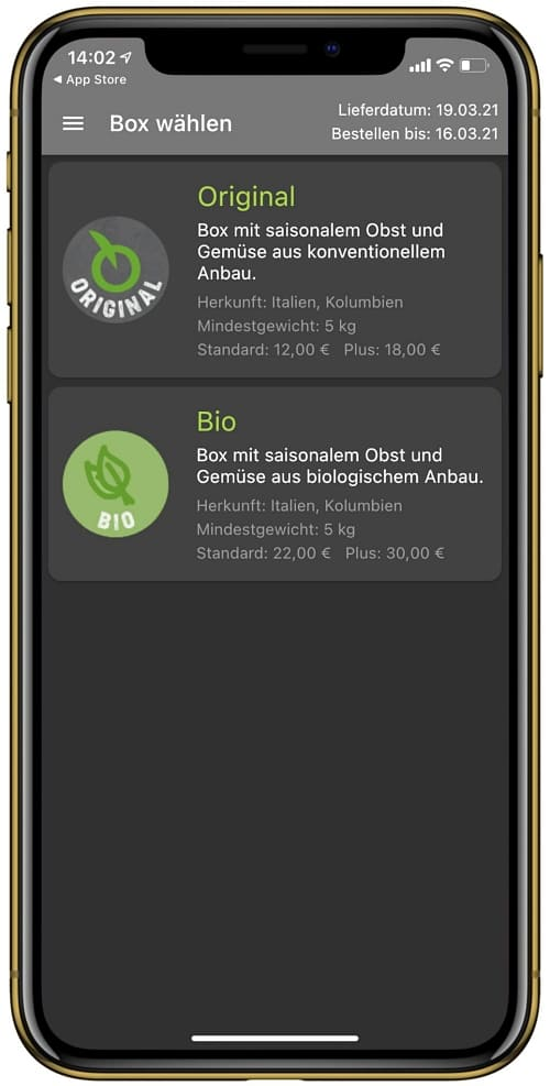 Froxbox Bioexpress Biokistl im Vergleich Welcher Obstlieferant Abo Obst und Gemüse