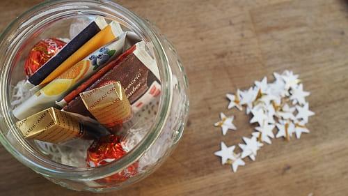 Last Minute Adventskalender ausdrucken ins Glas legen und verschenken 1